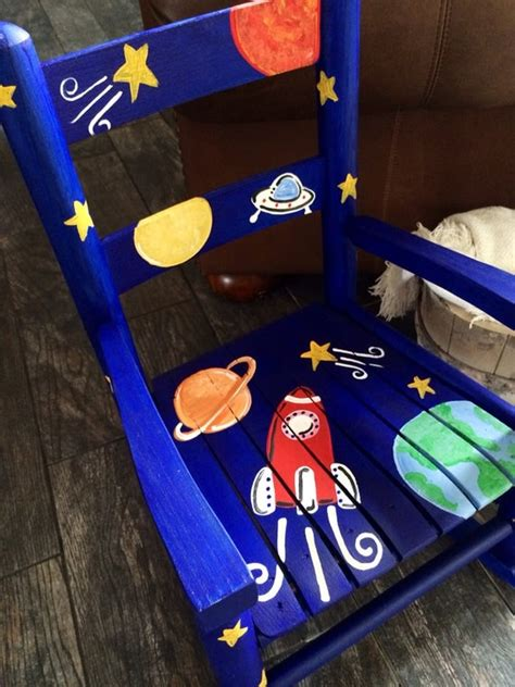 Rocket Ship Rocking Chair