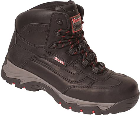 Rockfall Men's Lightweight Hiker Styled Safety Boot US Size 13 Black