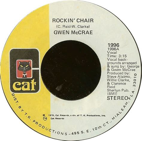 Rocking Chair Gwen Mccrae Chords