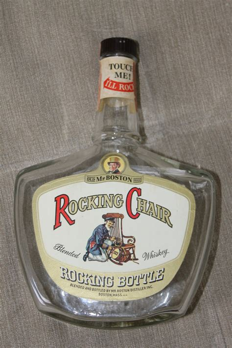 Rocking Chair Whiskey Bottle