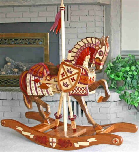 Rocking Horse Woodcraft Plans Promo