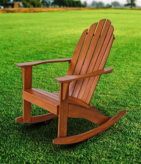 Marcum Rocking Adirondack Chair