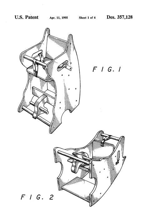 Rocking-Horse-High-Chair-Plans