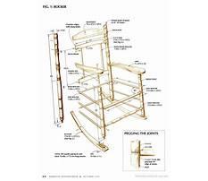 Best Rocking chair plans popular mechanics