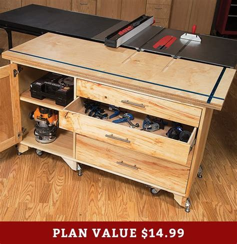 Rockler Outfeed Table Plans