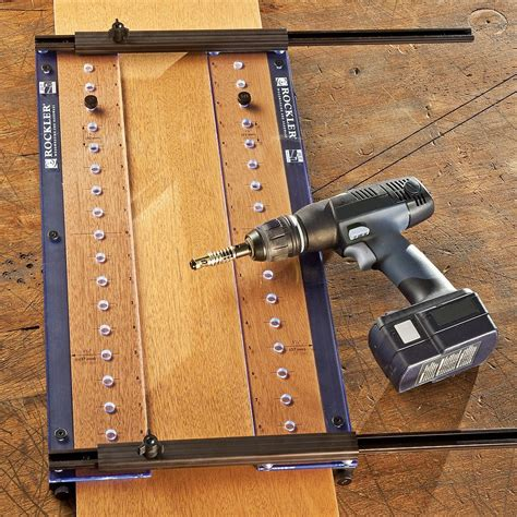 Rockler Shelf Drilling Jig