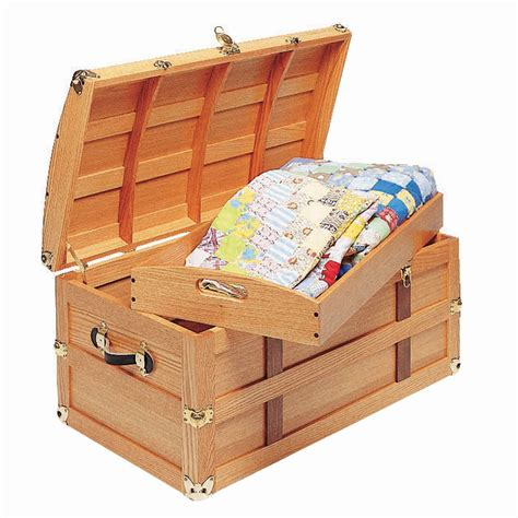 Rockler Steamer Trunk Woodworking Plans