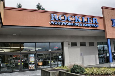 Rockler Woodworking And Hardware Seattle