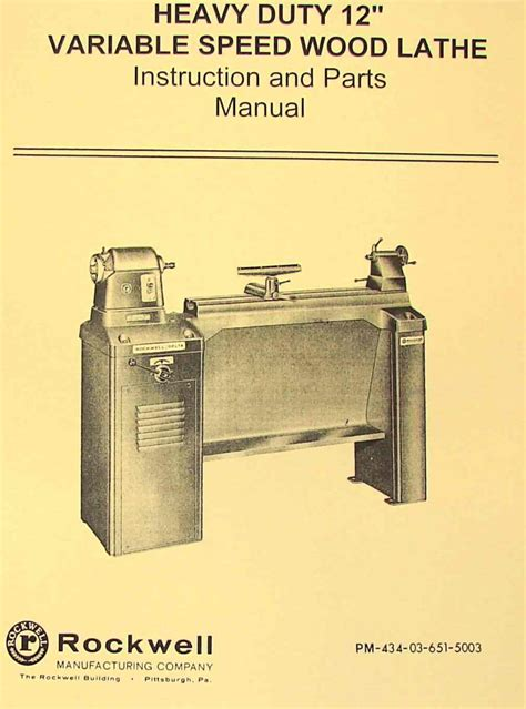Rockwell Woodworking Catalog