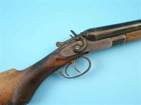Rogers Machine Company Shotgun Double Barrel Side By Side And Seneca Double Shot 50 Cal Double Barrel Shotgun