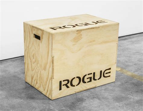 Rogue Fitness Plyo Box Plans