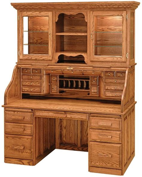 Roll Top Desk With Hutch Plans