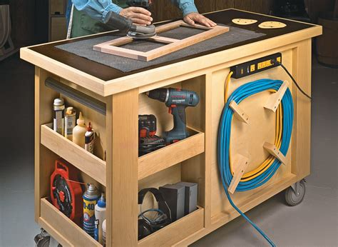 Roll-Around-Workbench-Plans