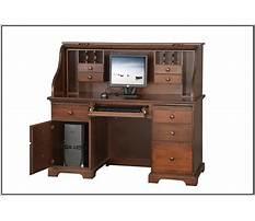 Best Roll top computer desk ikea