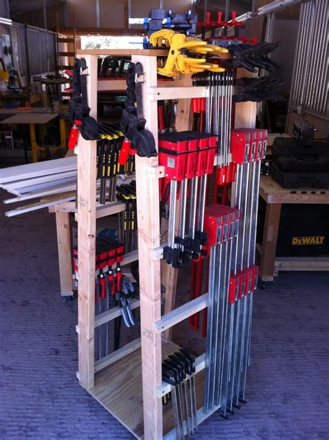 Rolling Clamp Rack Plan