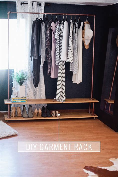 Rolling Garment Rack Diy School