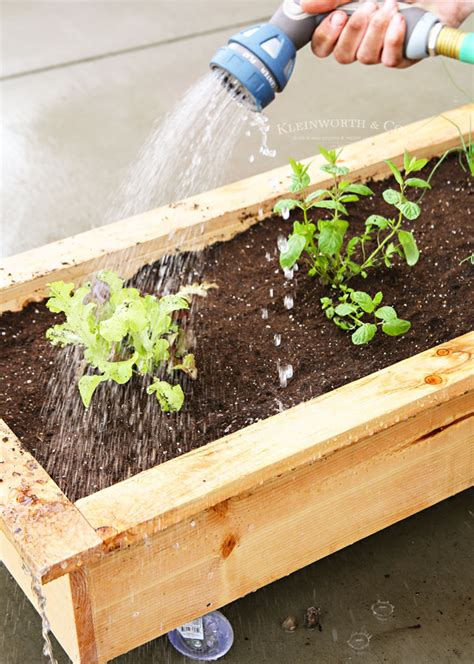 Rolling Planter Box Diy Plans