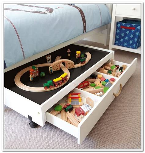 Rolling Underbed Storage Diy Kitchen