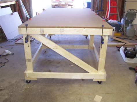 Rolling Workbench Plans 4 X 8