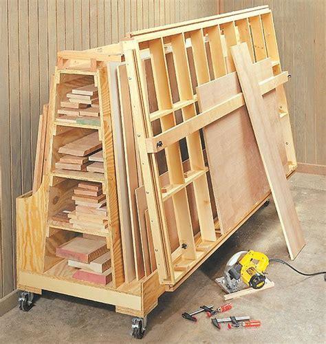 Rolling-Plywood-Storage-Rack-Plans