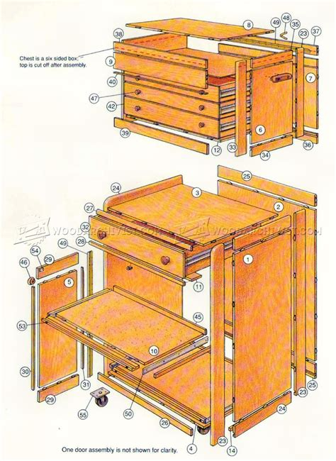 Rolling-Tool-Storage-Cabinet-Plans
