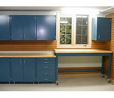 Best Rolling garage cabinet building plans