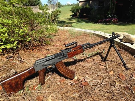 Romanian Aes10b Heavy Barrel Ak47 Sniper Rifle And Saudi Army Sniper Rifle