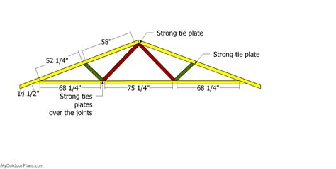 Roof Truss Rafter Plans For 20