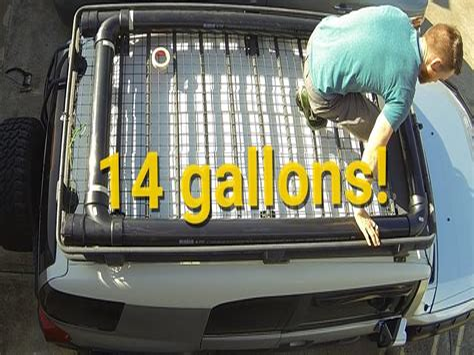 Roof-Rack-Water-Tank-Diy