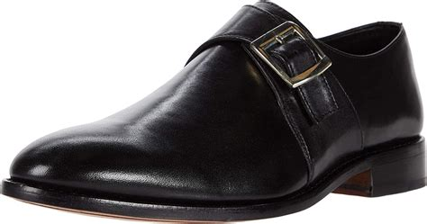 Roosevelt Men's Monk Strap Dress Shoe in Full Grain Leather Goodyear Welted Construction