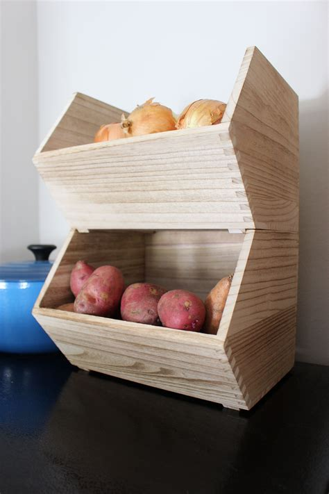 Root Vegetable Storage Diy Kitchen