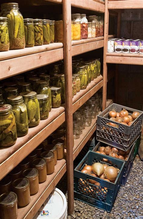 Root Vegetable Storage Diy With Jars