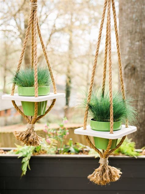 Rope-Hanging-Planter-Diy