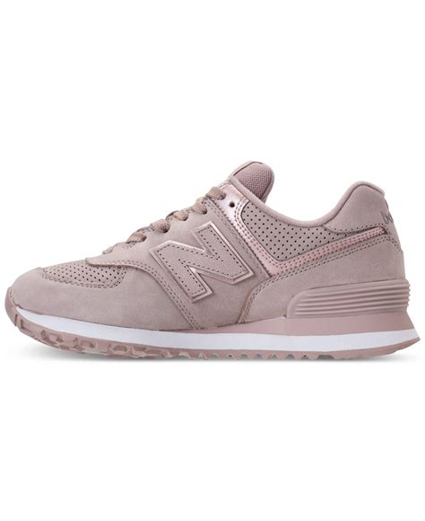 Rose Color New Balance Sneakers