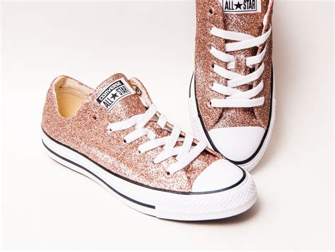 Rose Gold Sneakers Converse