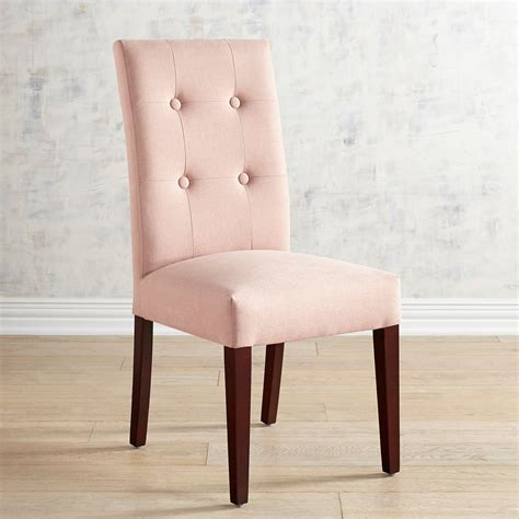 Rose Pink Dining Chair