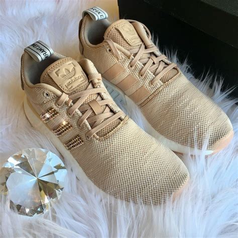 Rosegold Womens Adidas Sneakers