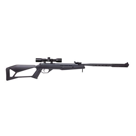 Rosman Thrasher 22 Ca Break Barrel Hunting Rifle And Ruger 10 22 Rifle Quad Rail
