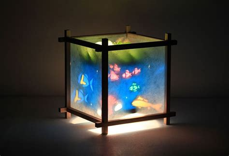 Rotating Kids Lamp