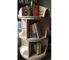 Best Rotating bookshelf diy