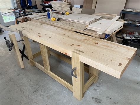 Roubo Bench Planing Stop Tightness