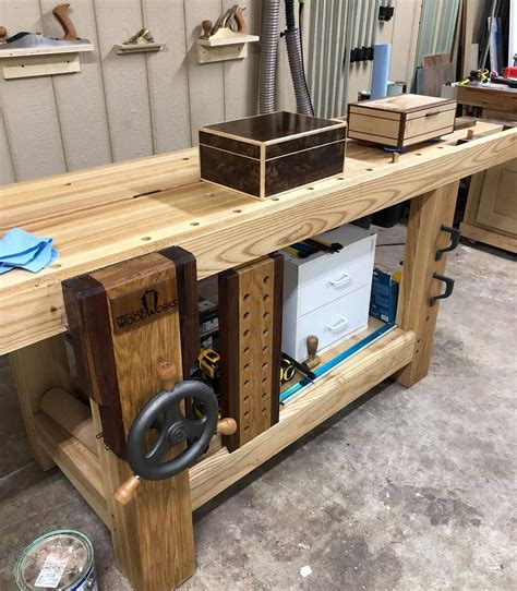 Roubo Woodworking Bench Plans