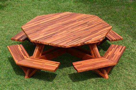 Round 8 Foot Octagon Octagon Picnic Table Woodworking