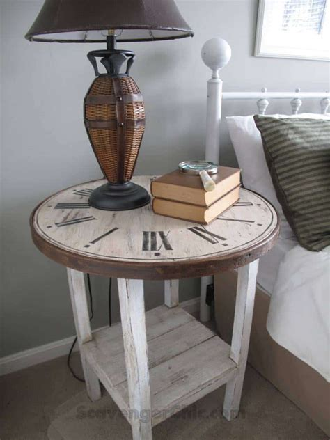 Round Accent Table Diy