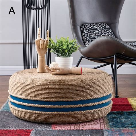 Round Coffee Table Ottoman Diy Tire