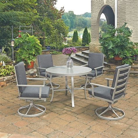 Round Dining Table With Swivel Chairs