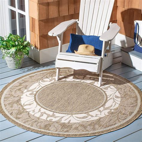 Round Patio Rugs Clearance