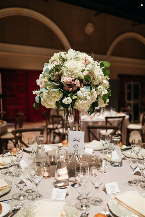 Round Table Centerpiece Decorations