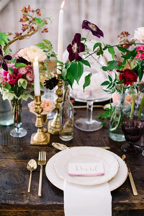 Round Table Centerpieces Diy