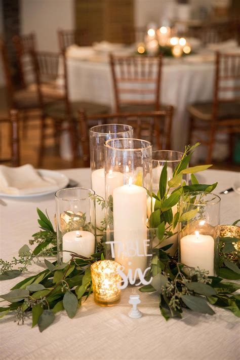 Round Table Centerpieces Diy Wedding
